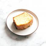 a slice of delicious keto cake