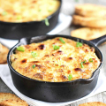 gratin of mashed potatoes