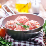 Fresh keto meatballs