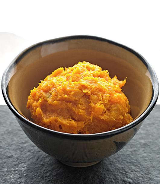 delicious keto pumpkin mash